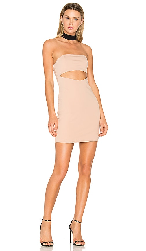 NBD x REVOLVE Attraction Dress in Tan