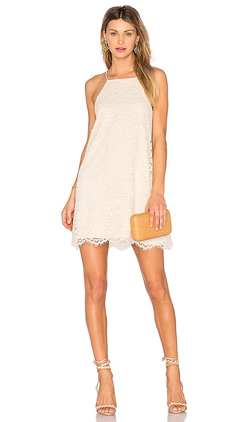 NBD Lisa Shift Dress in Ivory