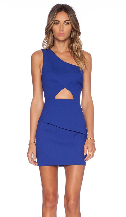 NBD x Naven Think About It Dress in Cobalt Blue