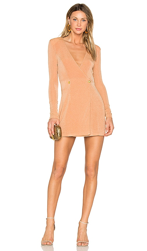 NBD River Mini Dress in Nude