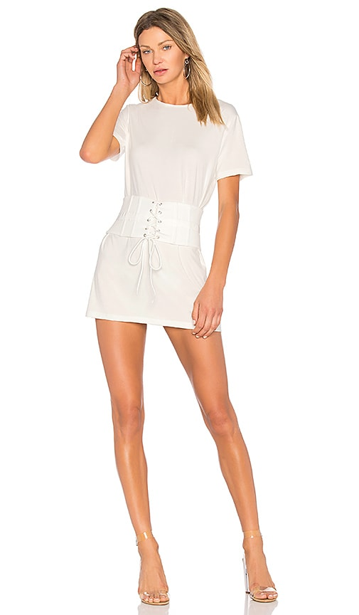 NBD x REVOLVE Cecil Dress in White