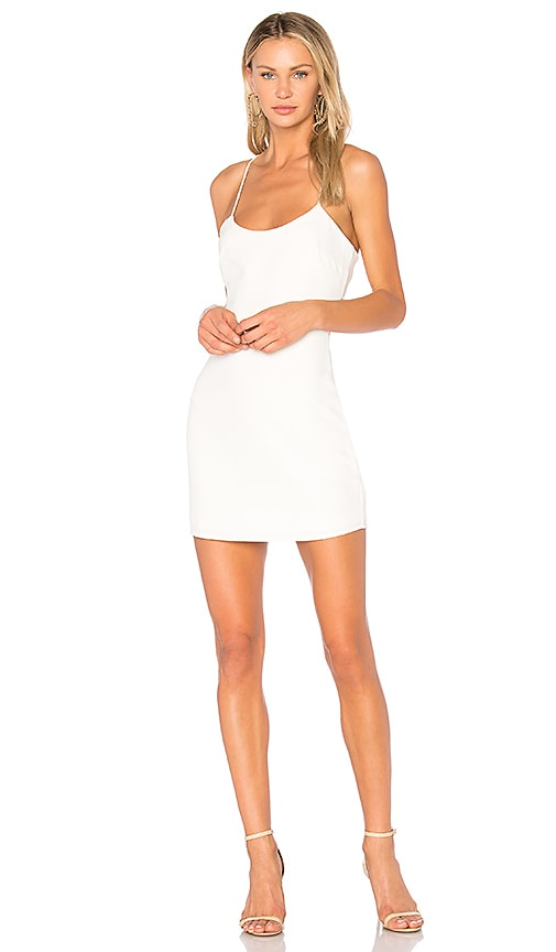 NBD Aria Mini Dress in Ivory