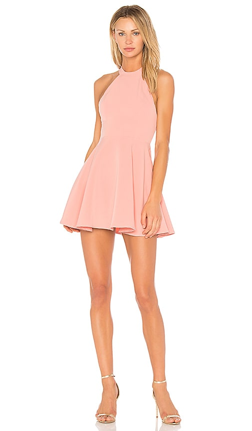NBD Leo Mini Dress in Pink