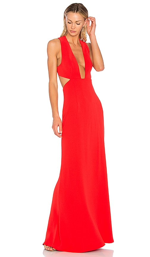 NBD Yani Gown in Red