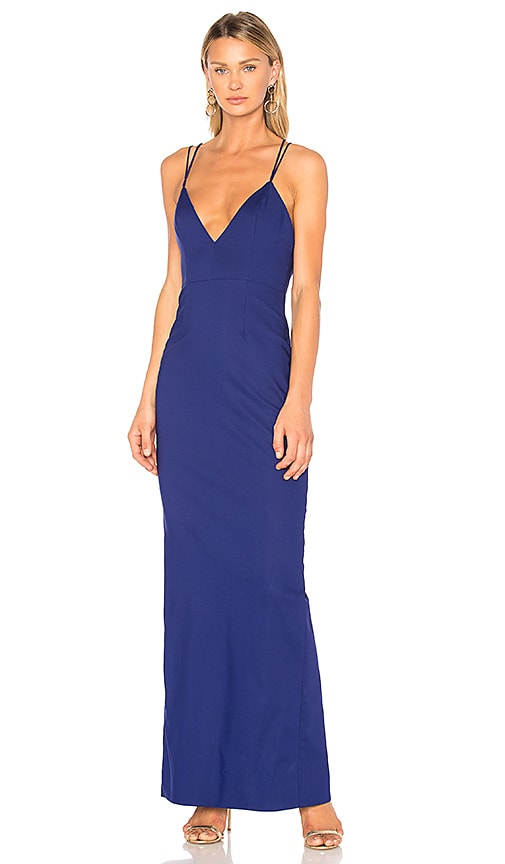 NBD x REVOLVE Brax Gown in Royal