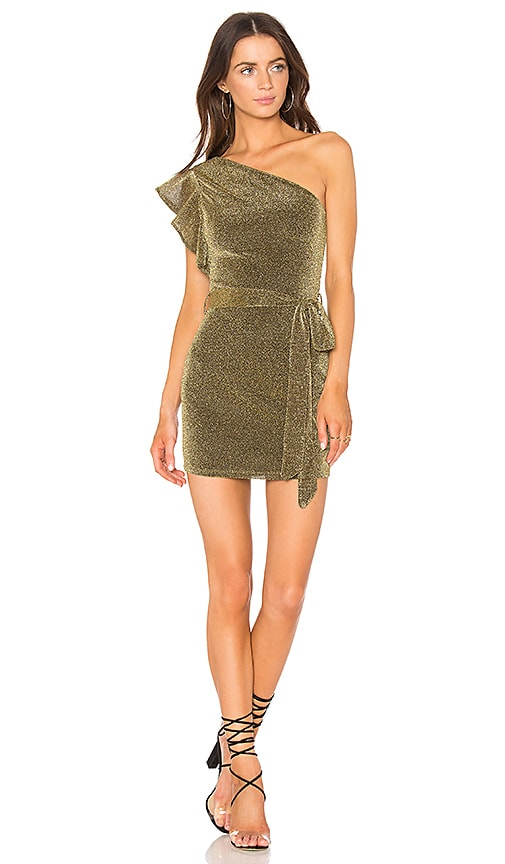 NBD x REVOLVE Addison Dress in Metallic Gold