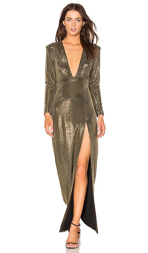 NBD x REVOLVE Alitza Gown in Silver & Gold | REVOLVE