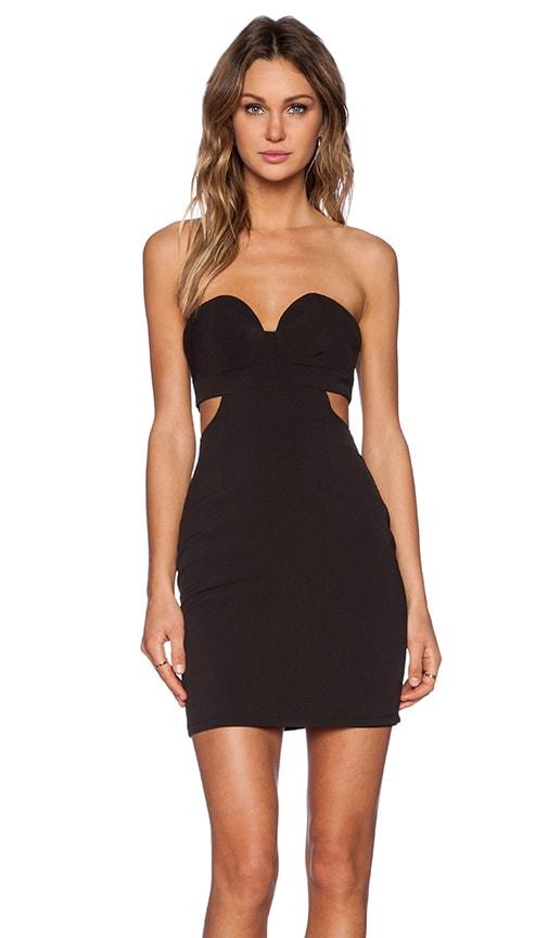 NBD Scoop Me Dress in Black