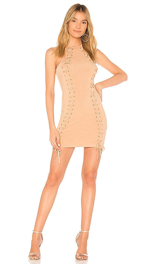 NBD Colley Dress in Beige