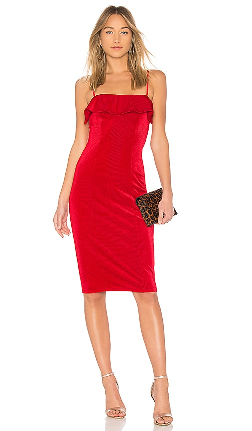NBD Chantel Dress in Red
