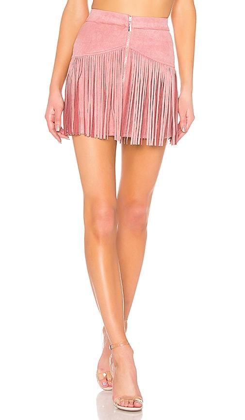 x Naven Rylan Fringe Skirt
