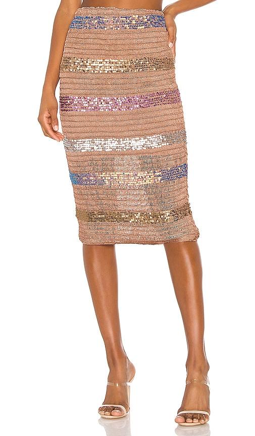 Mosaic Midi Skirt