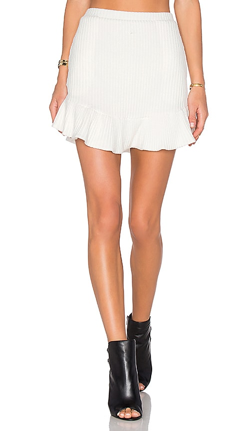 NBD x REVOLVE Headliner Skirt in Ivory