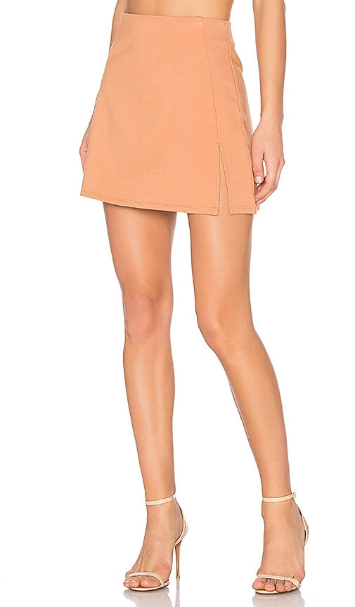 NBD Daphne Skirt in Beige