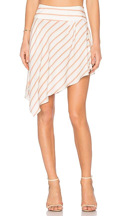 NBD Harlow Skirt in White