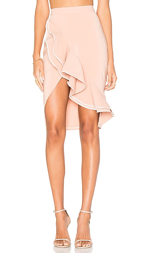 NBD x REVOLVE Zayleigh Skirt in Tan