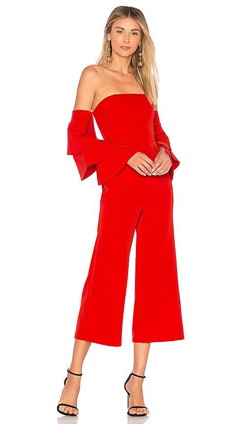 NBD Aaro Jumpsuit in Red