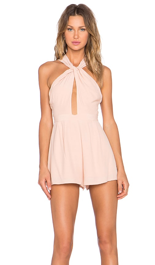 Got Me Twisted Romper