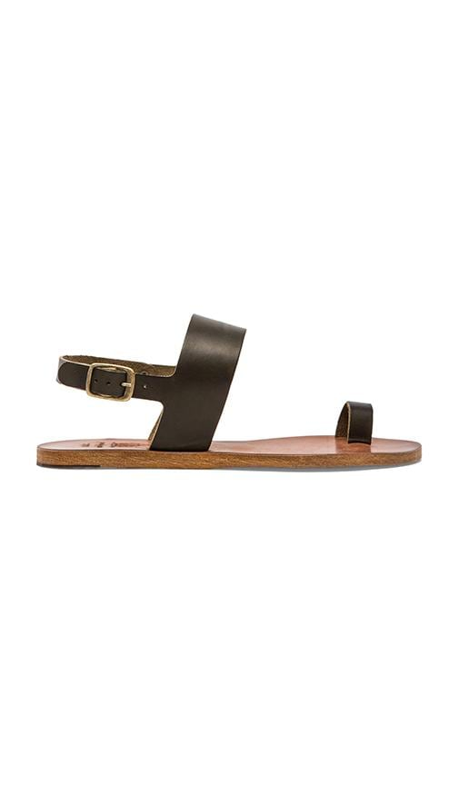 . Janae Leather Sandal