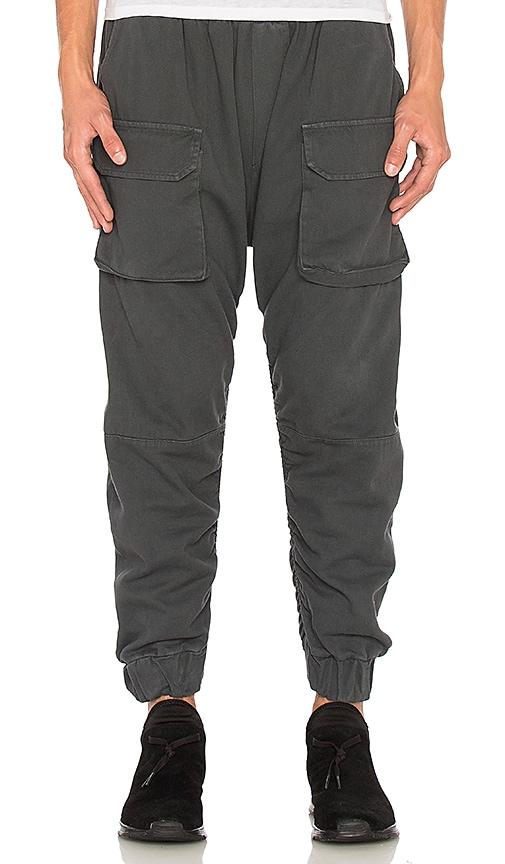 N.D.G. Studio FW16 Cargo Pants in Gray
