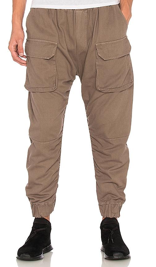 N.D.G. Studio FW16 Cargo Pants in Brown