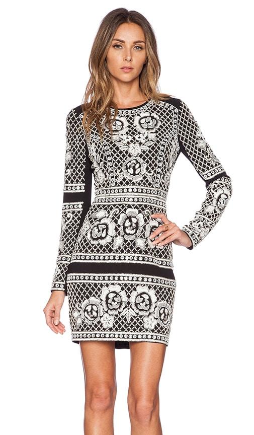 Lace Grid Dress