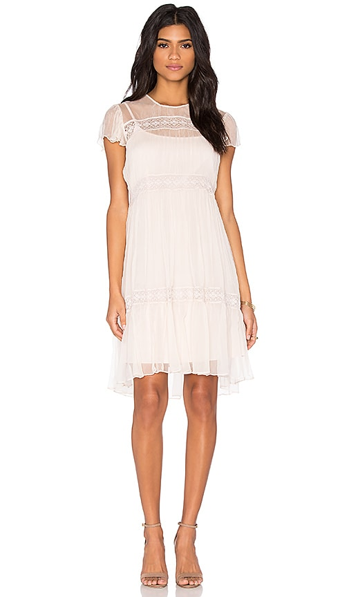 Chiffon Lace Dress