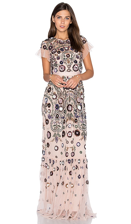 Enchanted Lace Maxi Dress