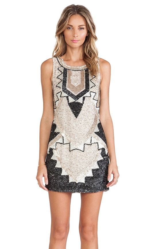 Deco Sequin Dress
