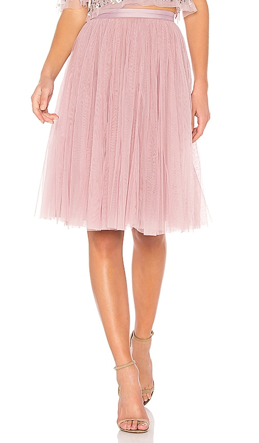 hot-selling authentic sophisticated technologies hot-selling authentic Tulle Midi Skirt