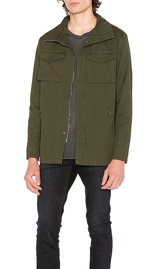 NEUW Utility Jacket in Army