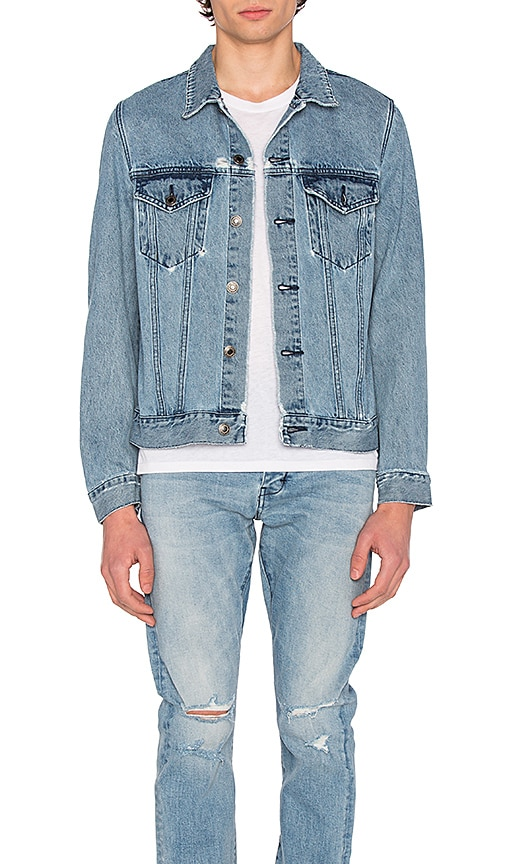 NEUW Denim Jacket in Water & Stone