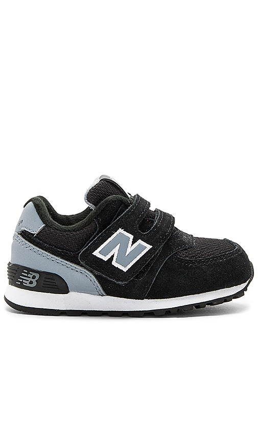 New Balance High Visibility Sneaker in Black