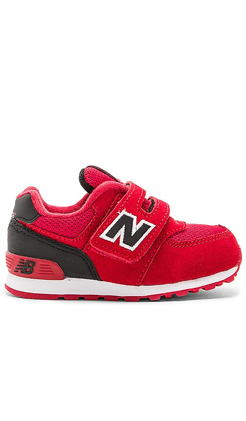 New Balance High Visibility Sneaker in Red