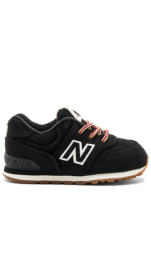 New Balance 574 Sneaker in Black