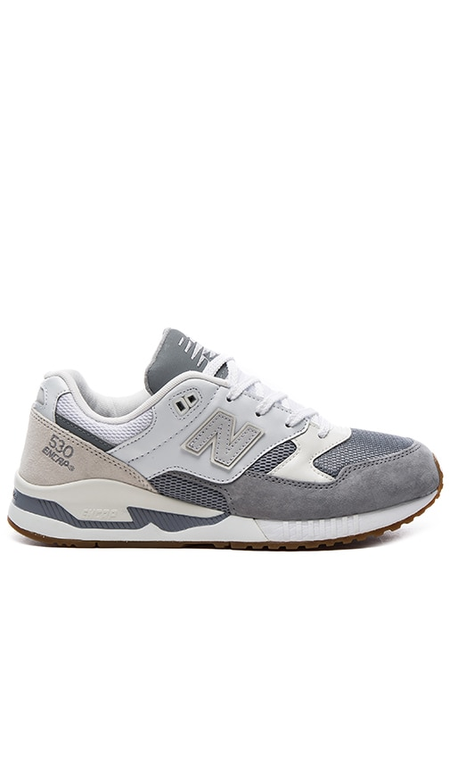size 40 14229 267a5 New Balance M530 in Grey & White | REVOLVE