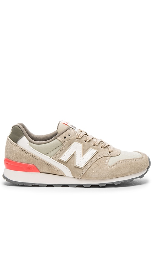 New Balance 696 Summer Utility Sneaker in Taupe