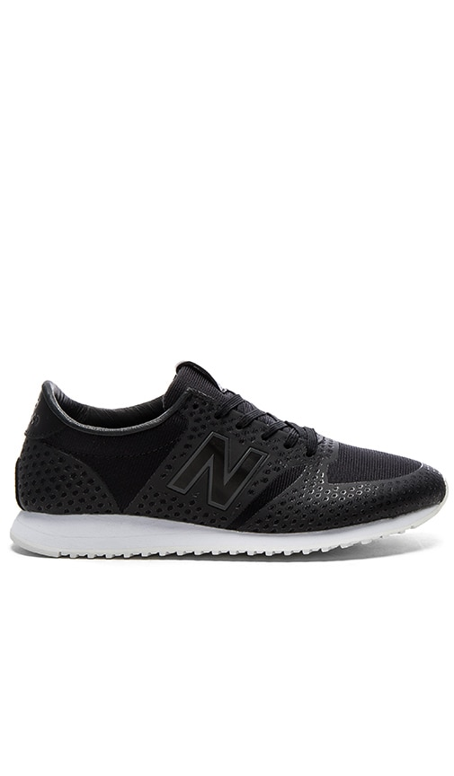 New Balance 420 Re-Engineered Sneaker in Black