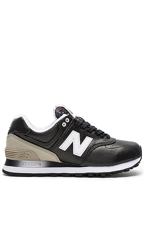 New Balance Gradient Sneaker in Black