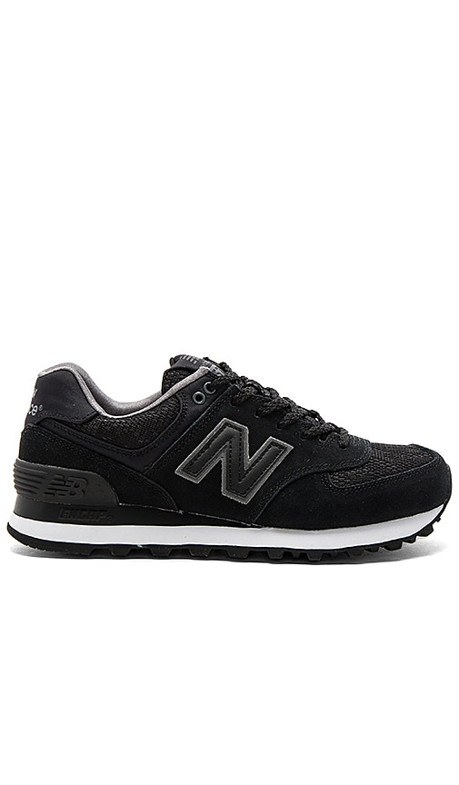 New Balance Nouveau Lace Sneaker in Black