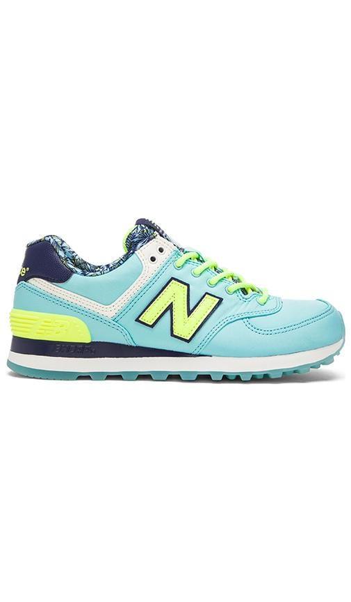 New Balance Luau Sneaker in Blue & Yellow