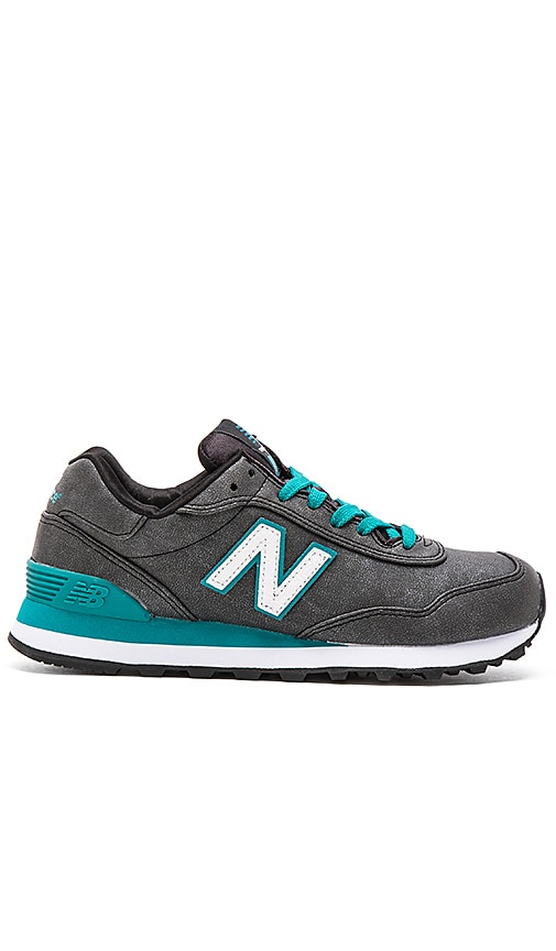 New Balance Classics Precious Metals Collection Sneaker in Black & Green