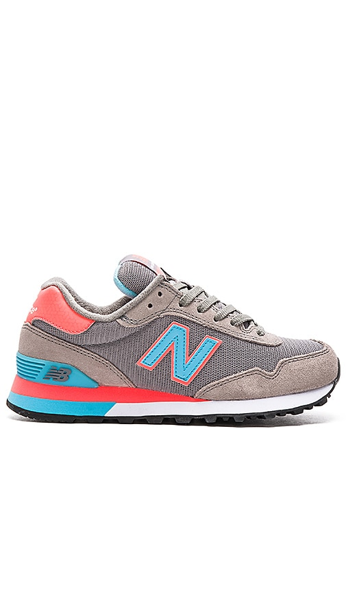 New Balance Classics NB Core Sneaker in Grey & Dragonfly