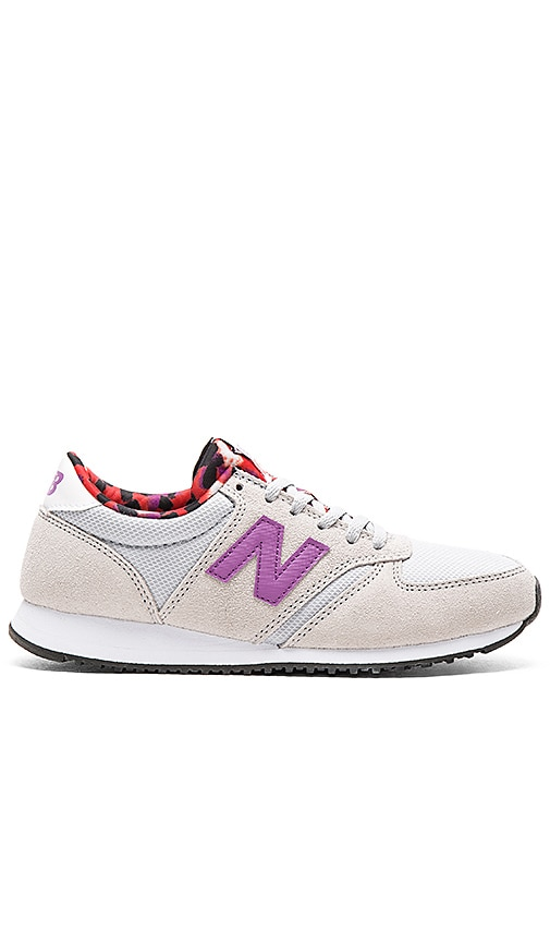 New Balance Artistic Pop Sneaker in Grey & Acrylic