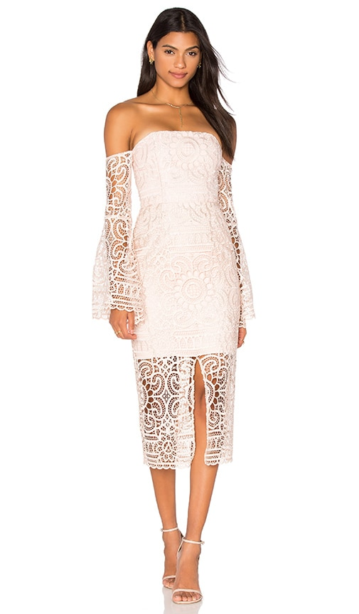 Geo Floral Lace Eva Dress