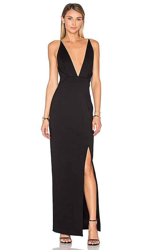 NICHOLAS Ponti Dress in Black