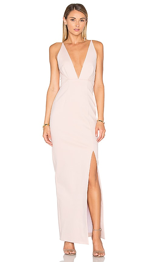 NICHOLAS Ponti Dress in Blush