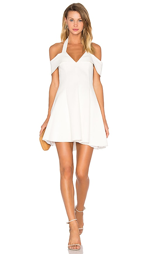 n / nicholas Ponti Sadie Dress in White