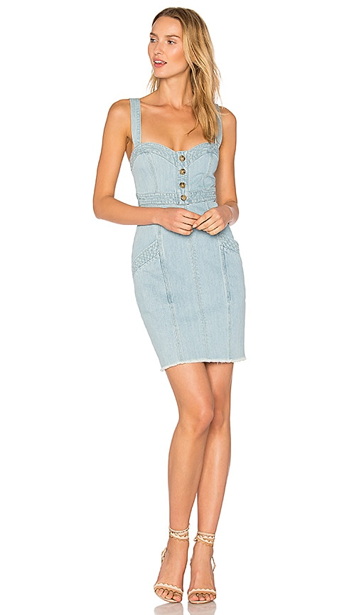 12b7fd06d4 Denim Paneled Dress. Denim Paneled Dress. NICHOLAS