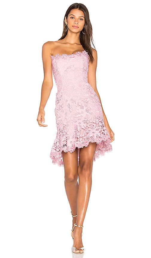 NICHOLAS Bellflower Mini Dress in Pink